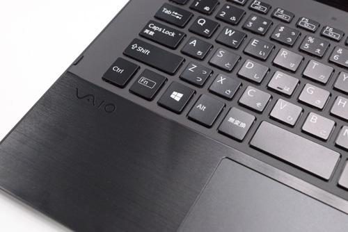 VAIO Pro 11 のキーボードはキーピッチが広くい