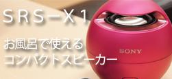 SRS-X1 レビュー